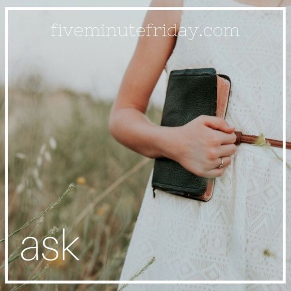 Ask - 31 Days of Five Minute Free Writes
